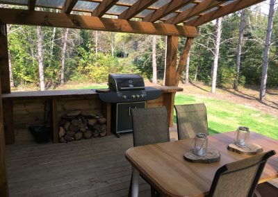 cuisine d'été exterieur mini chalet (3)